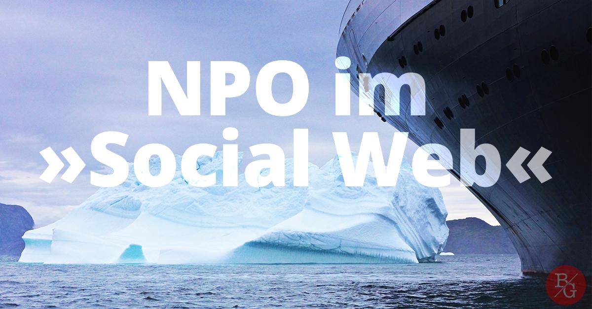 NPO im Social Web?! – Benedikt Geyer
